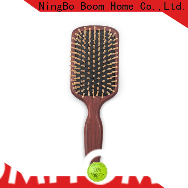 Boom Home Best wooden paddle brush company for home