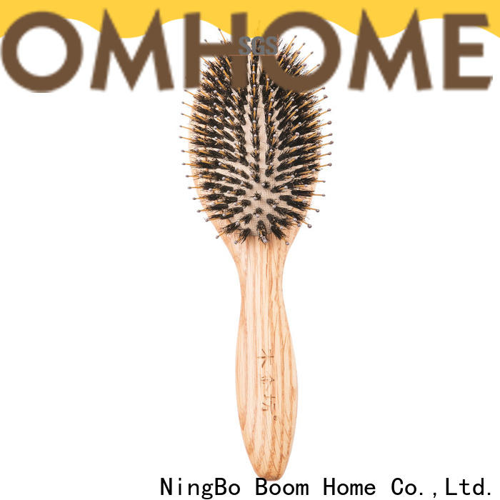 Boom Home brushes wooden hair comb factory for travel