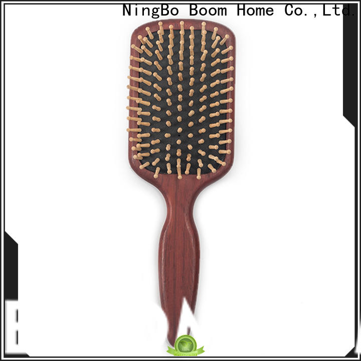 Boom Home easy wooden hair comb supply for hotel