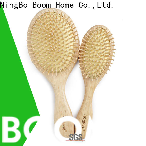 Best wooden handle hair brush oval factory for home