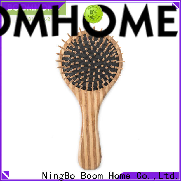 Boom Home easy bamboo paddle brush for business for women