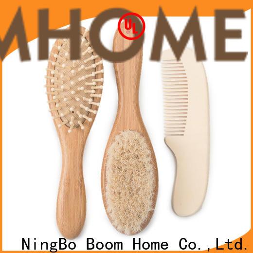 Boom Home boar toddler hair brush factory for infant