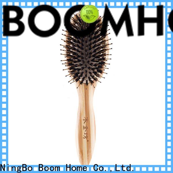 Boom Home Custom boar hair hairbrush manufacturers for home