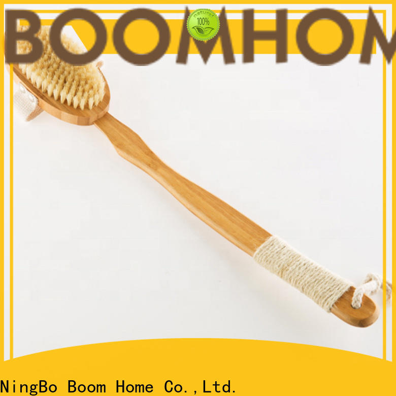 Top wooden body brush bristle supply for body