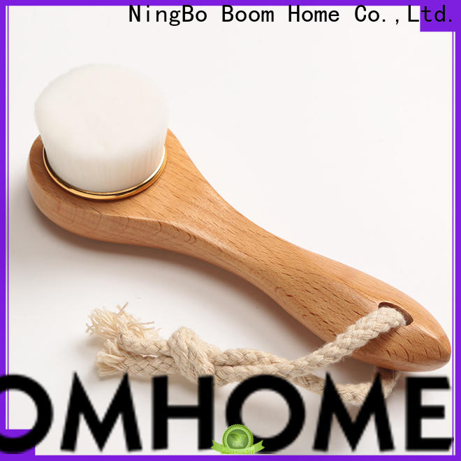 Boom Home exfoliation wooden face brush manufacturers for girls