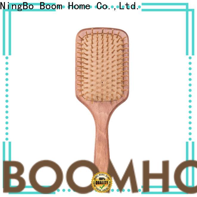 Boom Home logo wooden brush supply for household