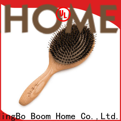 Boom Home Latest bamboo hair brush for business for women