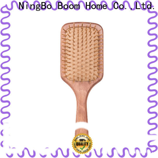 Boom Home beauty wood hair brush supply for shop