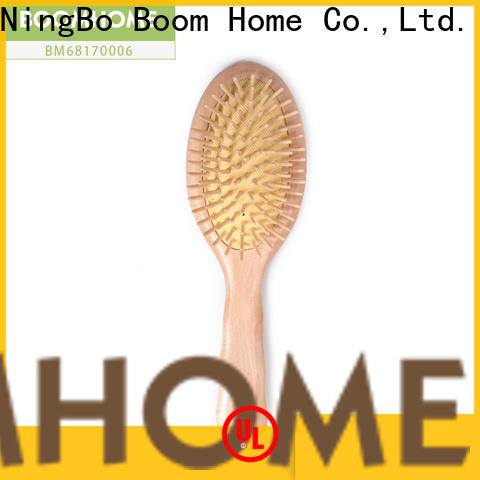 Boom Home wood wooden paddle hair brush suppliers for shop