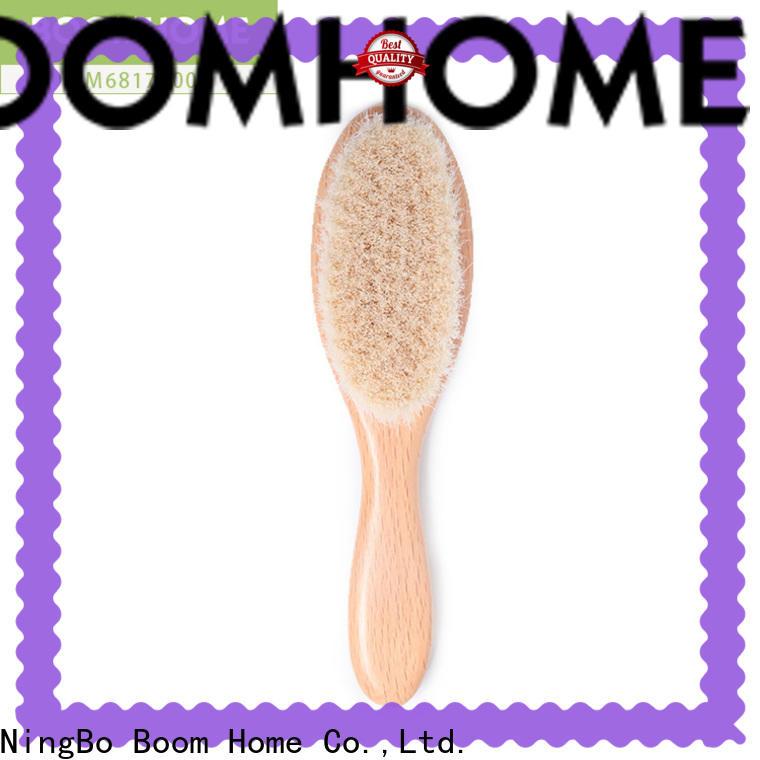 Boom Home Latest newborn hair brush factory for household