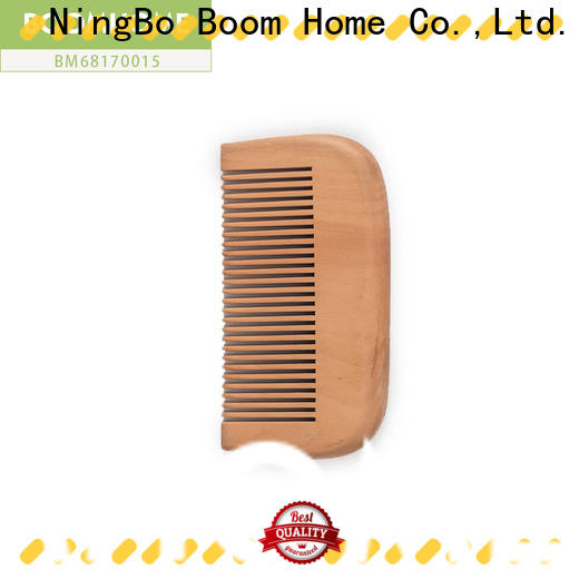 Boom Home grooming wooden comb supply for home