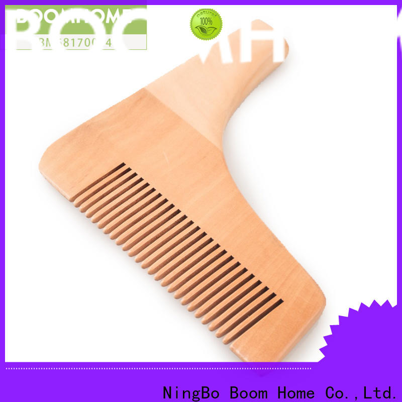 New wood hair brush paddle suppliers for hotel
