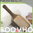Boom Home gifts wooden paddle hair brush supply for travel