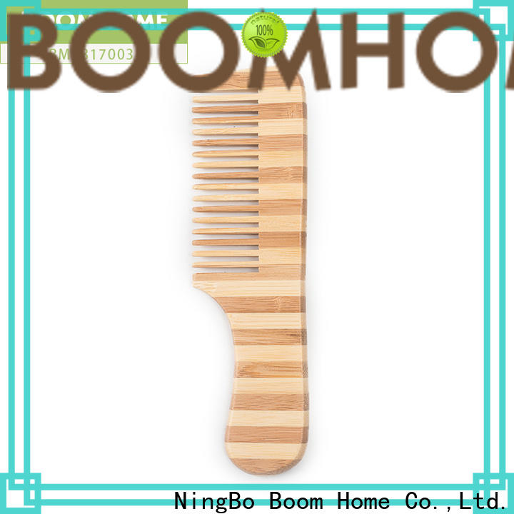 Boom Home Wholesale bamboo comb for business for men