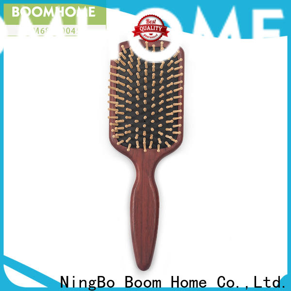 Boom Home growth wooden comb suppliers for travel