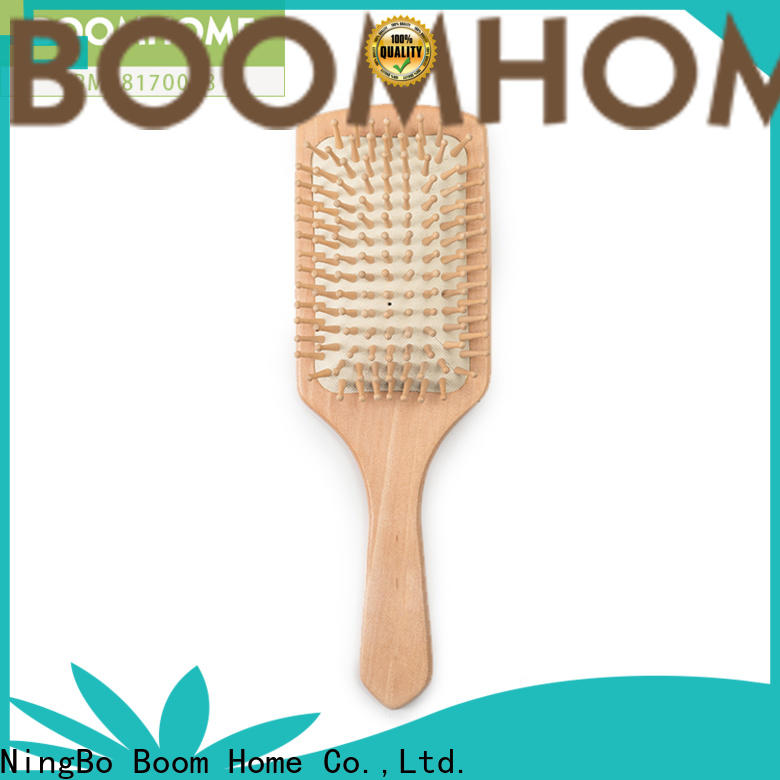 Boom Home large bamboo comb supply for thick hair