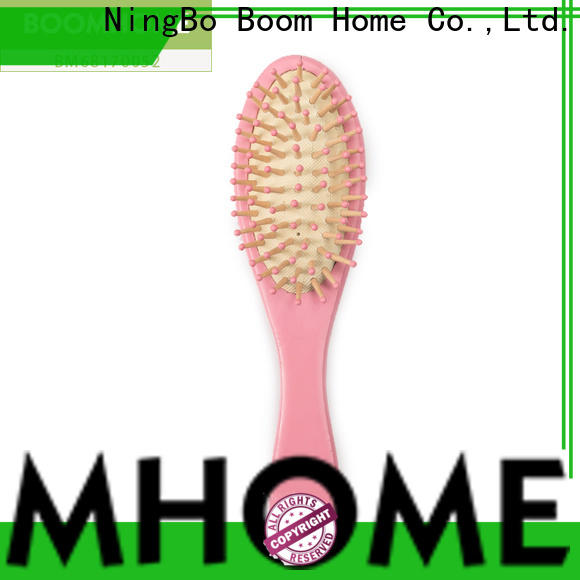 Boom Home High-quality wooden handle hair brush for business for travel
