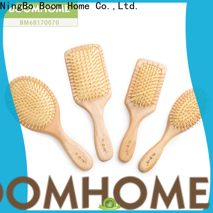 Boom Home Latest wooden hair comb supply for home
