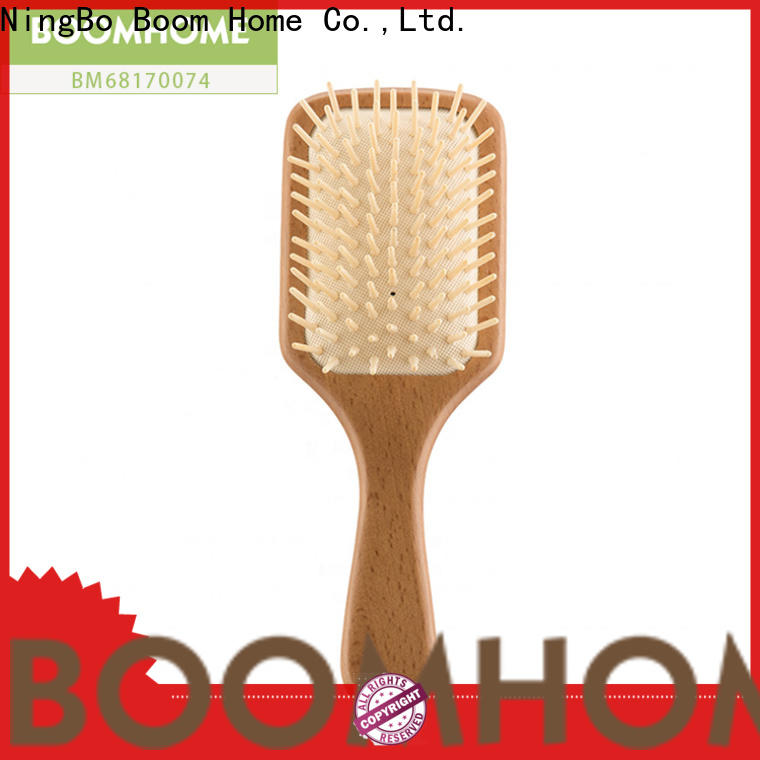 Boom Home beard wooden hair brush company for shop
