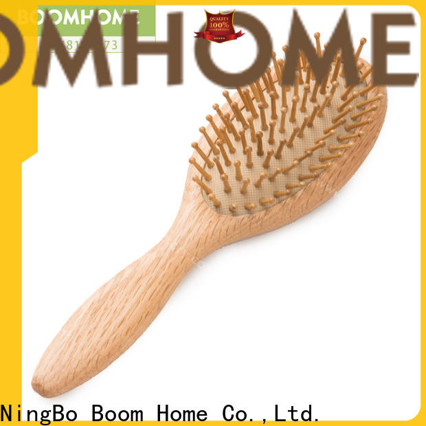 Boom Home comb wooden paddle hair brush manufacturers for home