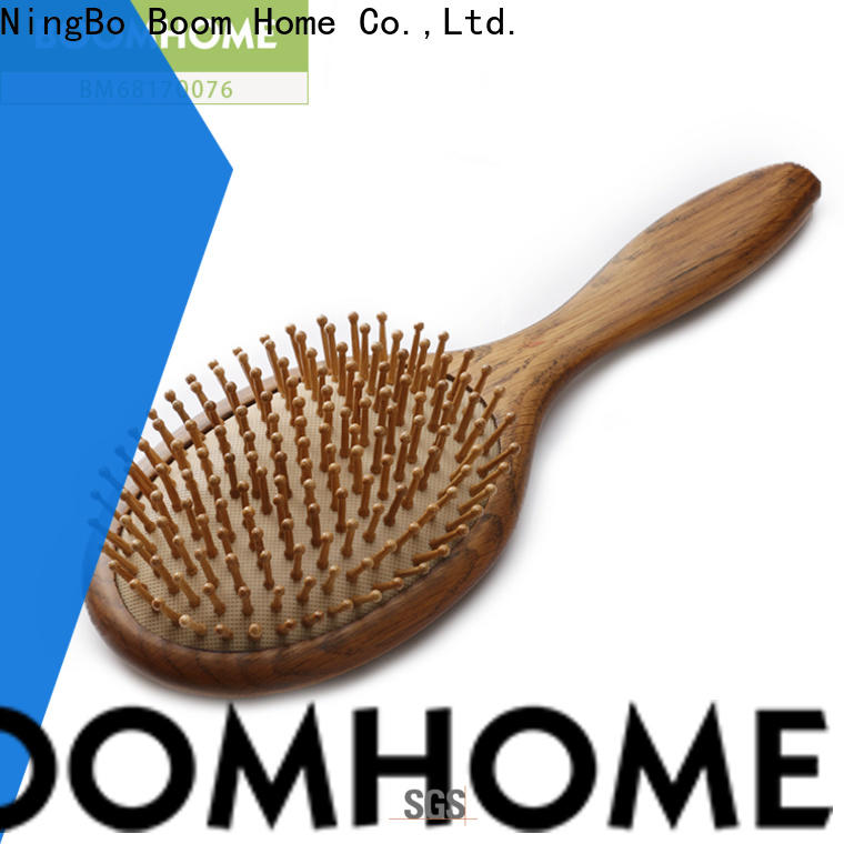 Boom Home small wooden paddle brush supply for home