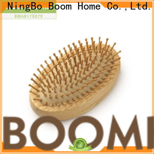 Boom Home Custom wooden handle hair brush factory for home