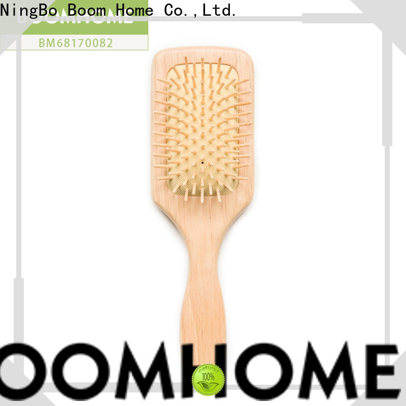 Wholesale wooden paddle brush paddle company for travel