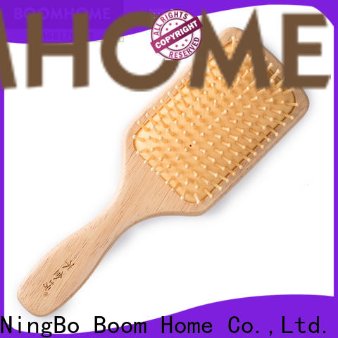 Boom Home price wooden hair comb manufacturers for travel