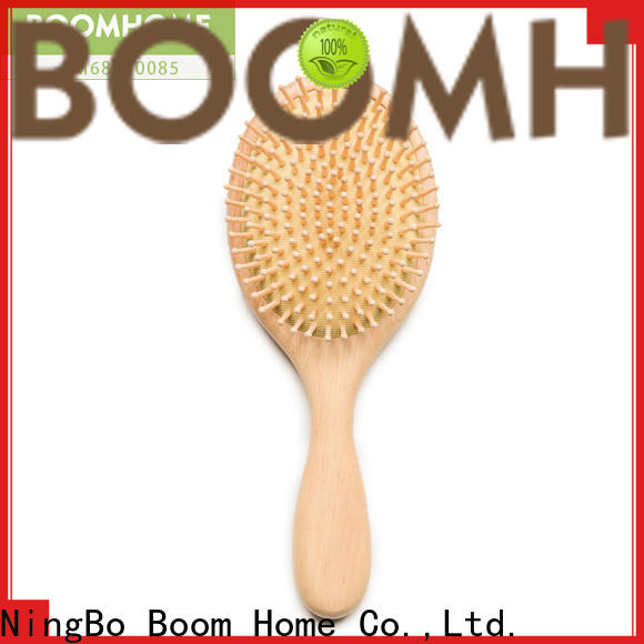Boom Home Wholesale wooden paddle hair brush company for home