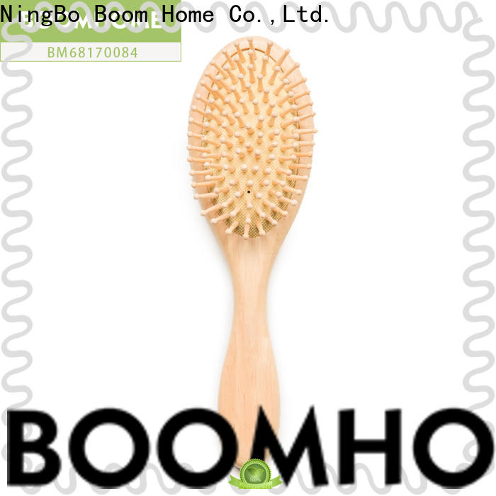 High-quality wooden handle hair brush straightening supply for travel