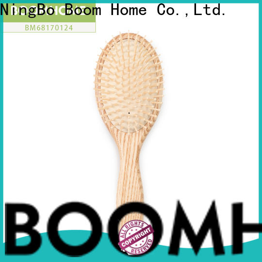 Boom Home comb wooden paddle hair brush for business for hotel