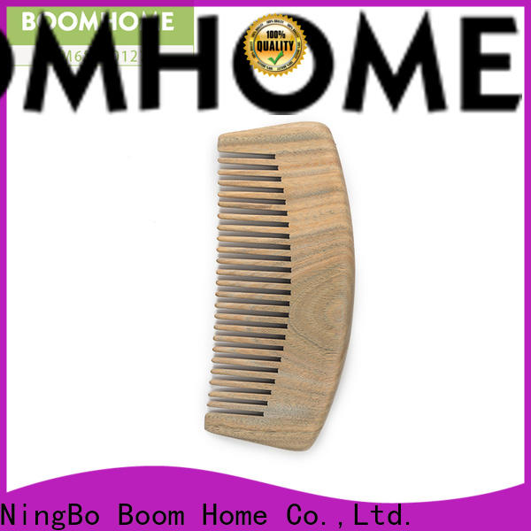 Boom Home carry wooden handle hair brush manufacturers for hotel
