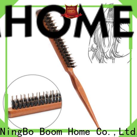 Boom Home New boar bristle hair brush suppliers for hair salon