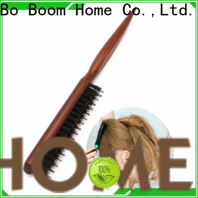 Boom Home Wholesale boar bristle hair brush supply for hair salon