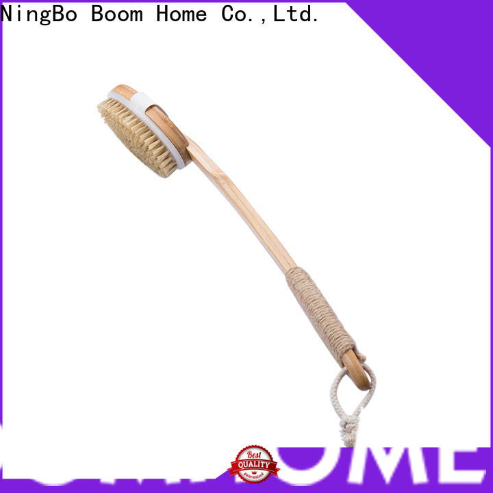 New body brush bamboo company for shower