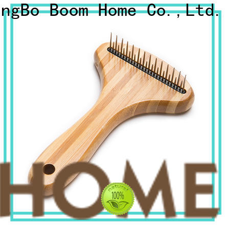 Boom Home bamboo pet brush suppliers for pets