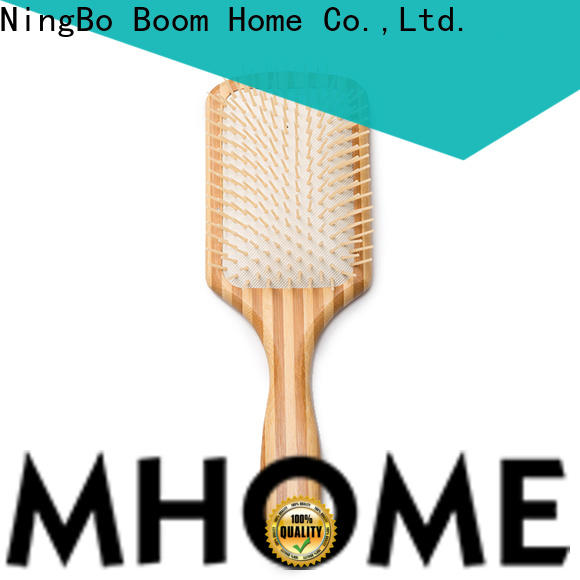 Boom Home bristle wood hair brush supply for home