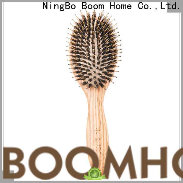 Boom Home no wooden hair brush supply for travel