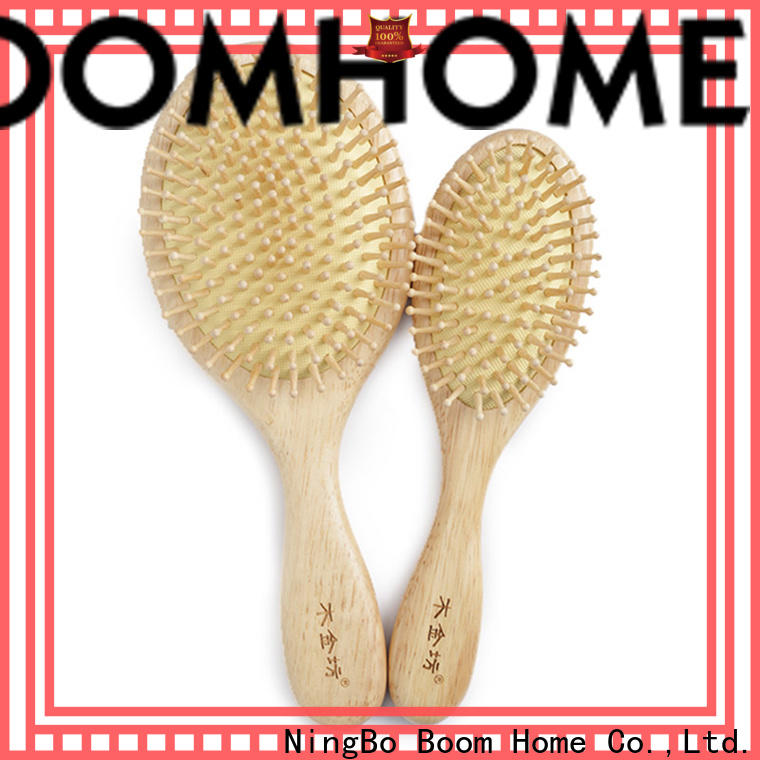 Boom Home Custom wooden paddle hair brush suppliers for home