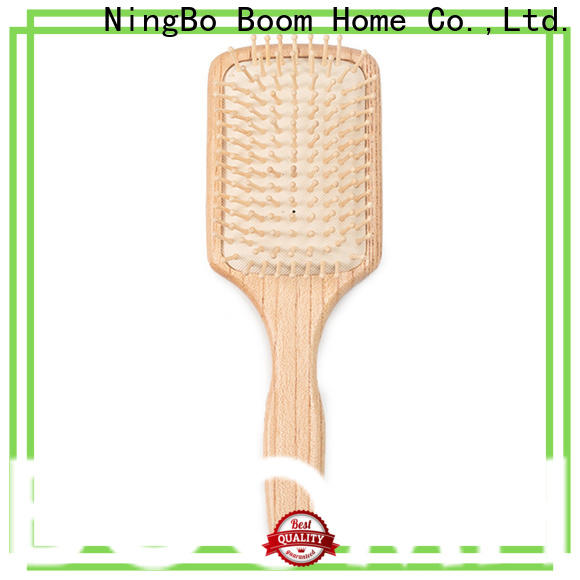 Top wooden paddle brush gift supply for hotel