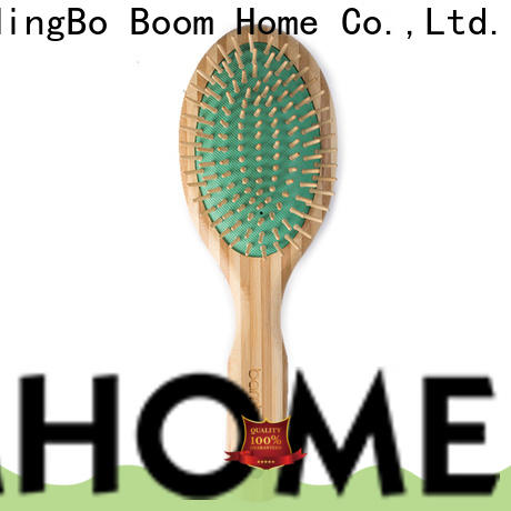 Boom Home Custom bamboo paddle brush manufacturers for curly hair