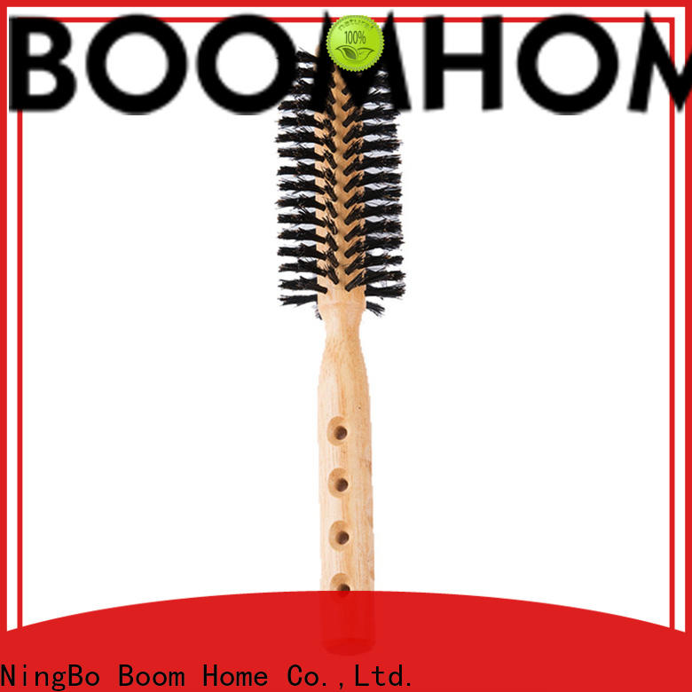 Boom Home round barrel hair brush supply for cleaning
