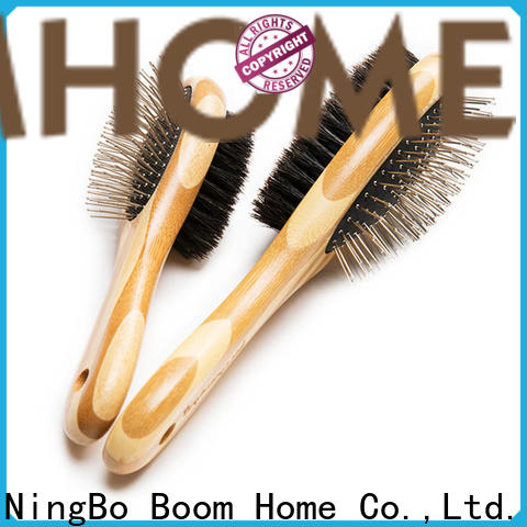 Boom Home tangles pet brush company for home
