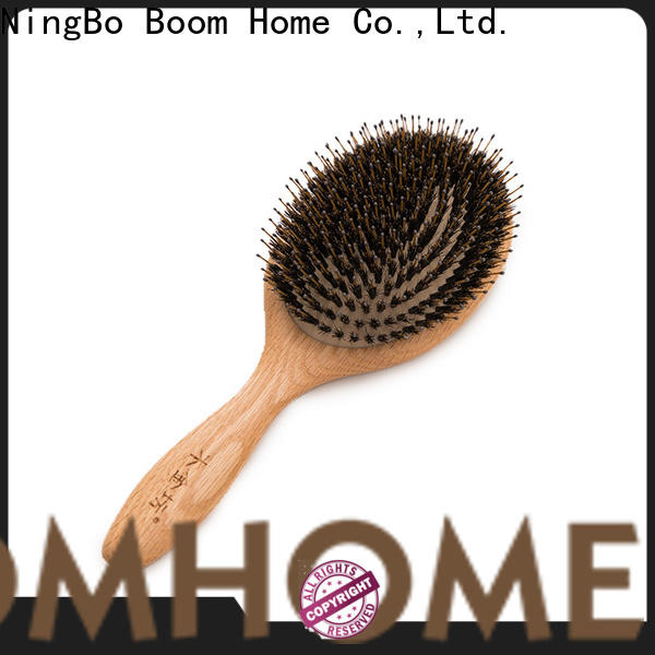 Boom Home small bamboo hair brush supply for men