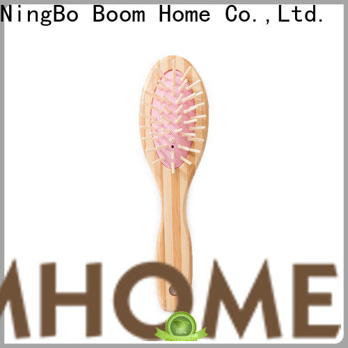 Boom Home mini bamboo hair comb company for thick hair