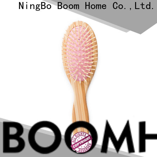 Boom Home New bamboo hair comb manufacturers for curly hair