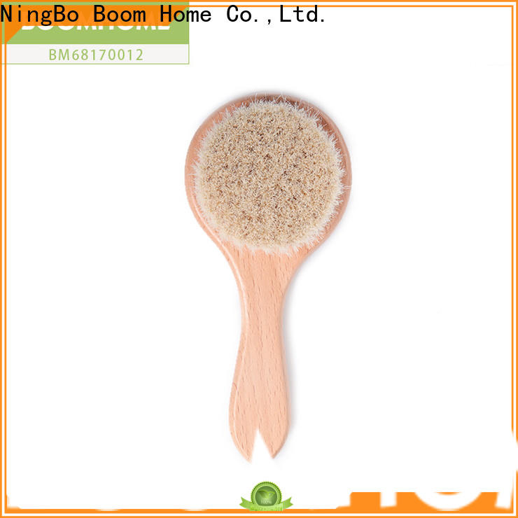 Boom Home New baby hair brush and comb set for business for kids