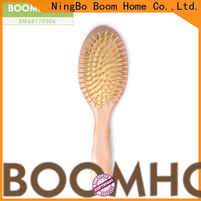 Boom Home air wooden handle hair brush company for home