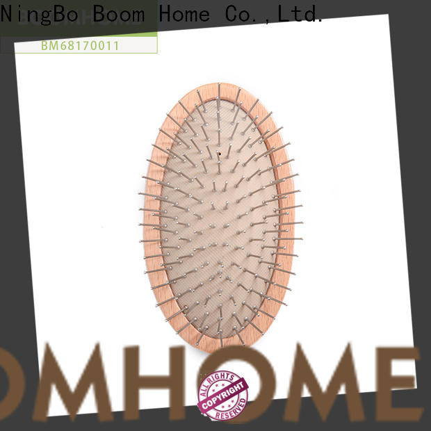 Boom Home New wooden paddle hair brush factory for shop