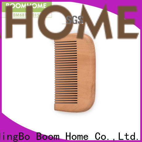 Boom Home Best wood hair brush company for hotel